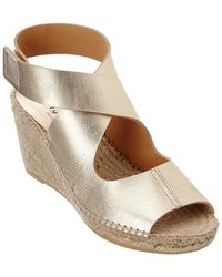 Bettye Muller - Mobile Leather Wedge Espadrille - Lyst