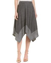 Trina Turk - Camillo Linen-blend A-line Skirt - Lyst