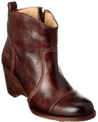 Bed Stu - Gentry Leather Bootie - Lyst