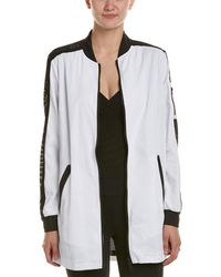 Blanc and Noir - Boyfriend Bomber Jacket - Lyst