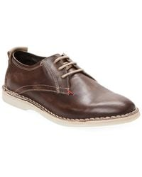 Russell Park - Leather Roper-toe Derby Shoe - Lyst