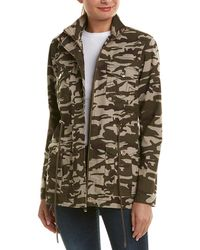 True Religion - Camouflage Cotton Jacket - Lyst