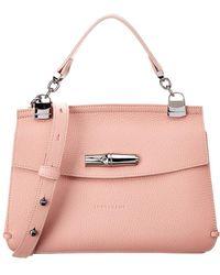 Longchamp Ulysse Leather Travel Bag in Black - Lyst eff925598fa8d