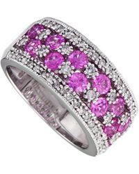 Effy - Fine Jewellery 14k 1.97 Ct. Tw. Diamond & Gemstone Ring - Lyst