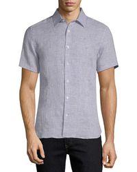 Orlebar Brown - Meden Tailored Sport Shirt - Lyst