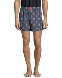 Psycho Bunny - Printed Boxer - Lyst
