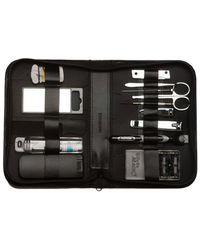 Bey-berk - Leather 14pc Manicure & Grooming Set - Lyst
