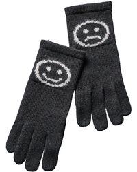 Phenix - Cashmere Emoji Gloves - Lyst