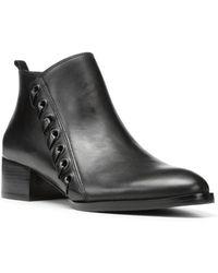 Donald J Pliner - Avea Leather Bootie - Lyst