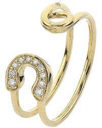 Adornia - Fine 14k 0.06 Ct. Tw. Diamond Ring - Lyst