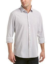 Mizzen+Main - Mizzen+main Nolan Trim Fit Woven Shirt - Lyst