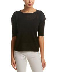 Lafayette 148 New York - Relaxed Linen-blend Pullover - Lyst
