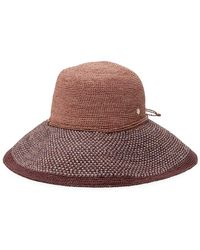 8c0bbf1b4d73b Helen Kaminski - Provence Bucket Hat - Lyst