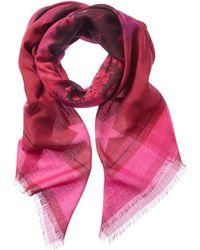 Givenchy - Rottweiler Print Wool & Silk-blend Scarf - Lyst