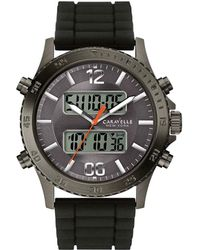 Caravelle NY - Caravelle Ny Men's Silicon Rubber Watch - Lyst