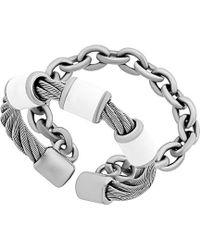 Charriol - St. Tropez Stainless Steel Ring - Lyst
