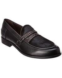 Donald J Pliner - Leather Loafer - Lyst