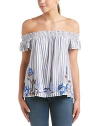 Romeo and Juliet Couture - Off-the-shoulder Top - Lyst