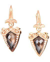 Stephen Webster - Silver 0.13 Ct. Tw. Diamond & Gemstone Earrings - Lyst
