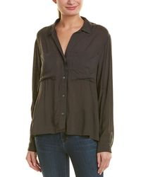 James Perse - Relaxed Shirt - Lyst