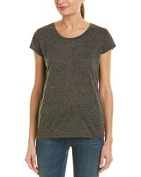 French Connection - Hetty Linen-blend T-shirt - Lyst