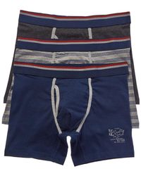 Lucky Brand - 3pk Stretch Boxer Brief - Lyst