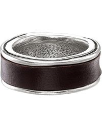 Uno De 50 - Surrounded Silver Ring - Lyst