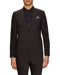 Kenneth Cole - Solid Notch Lapel Sportcoat - Lyst