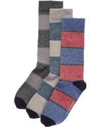 Richer Poorer - Set Of 3 Sock - Lyst