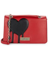 Love Moschino - Heart Chain Shoulder Bag - Lyst