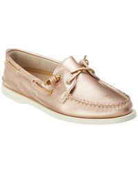 415b9a2f540a Sperry Top-Sider Women ́s A o Vida 2-eye Boat Shoes in Pink - Lyst