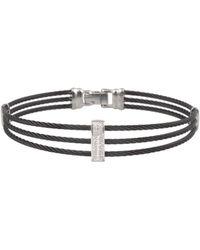 Alor - 14k Diamond Cable Bracelet - Lyst