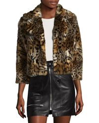 Mother - The Boxy Cropped Jacket - Lyst