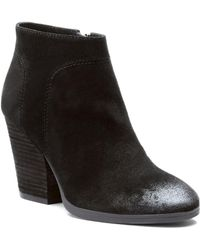 Isola - Isolá Leandra Suede Bootie - Lyst