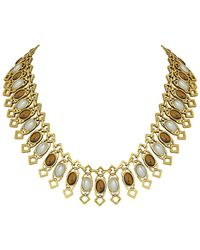 House of Harlow 1960 - 1960 14k Plated Collar Necklace - Lyst