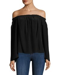 Jay Godfrey - Holly Off-the-shoulder Top - Lyst