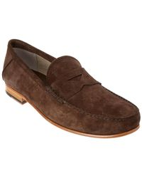 Tod's - Suede Loafer - Lyst