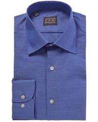 Ike Behar - Contemporary Fit Dress Shirt - Lyst