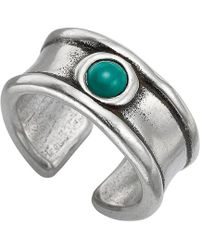 Uno De 50 - Unode50 Wild Live Silver Plated Ring - Lyst