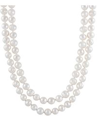 Splendid - 7-8mm Freshwater Pearl Endless 52in Necklace - Lyst