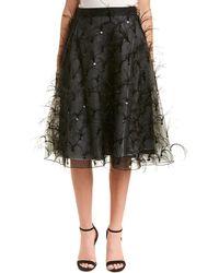Sachin & Babi - Sachin & Babi Noir Silk A-line Skirt - Lyst