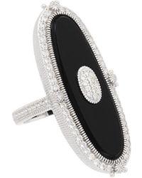 Judith Ripka - Westport Silver 7.70 Ct. Tw. Gemstone Ring - Lyst