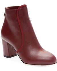 Charlotte Olympia - Alba 100 Leather Bootie - Lyst