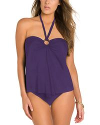 Miraclesuit - Heavy Metal Fly Girl Tankini Top - Lyst