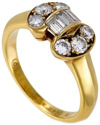 Heritage Van Cleef & Arpels - Van Cleef & Arpels 18k 0.50 Ct. Tw. Diamond Ring - Lyst