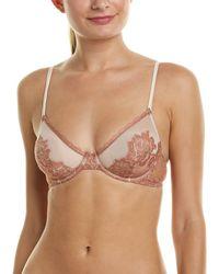 97211d4b9d823 La Perla Begonia Underwire Lace Bra in Pink - Lyst