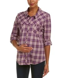 Everly Grey - Maternity Batinia Shirt - Lyst
