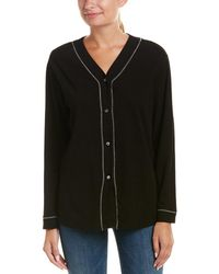 Three Dots - Buttondown Top - Lyst