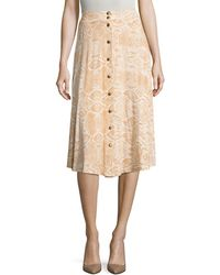 Rachel Pally - Priya Printed Knee Length Skirt - Lyst