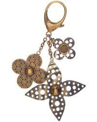 Louis Vuitton - Gold-tone Bijou Sac Rock Flower Girl Bag Charm - Lyst